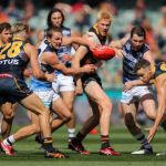 Ben Keays, Brodie Smith, Elliott Himmelberg, Patrick Dangerfield, Tom Atkins