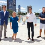 Gillon McLachlan, Kate Jones, Luke Hodge, Simon Black