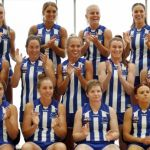 AFLW 2021 Media - North Melbourne Team Photo Day