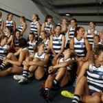 AFLW 2021 Media - Geelong Team Photo Day