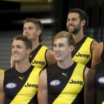 AFL 2021 Media - Richmond Team Photo Day