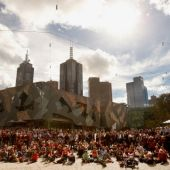 AFL 2012 Media - Jim Stynes Funeral