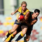 AFL 2013 Media - Women's National Championship - Tas v ACT