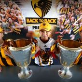 AFL 2014 Media - Hawks Cup Tour - Adelaide and Perth