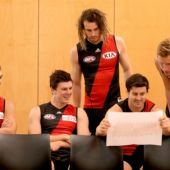 AFL 2015 Media - Essendon Team Photo Day