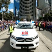 AFL 2016 Media - Toyota AFL Grand Final Parade