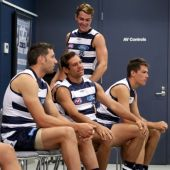 AFL 2017 Media - Geelong Team Photo Day