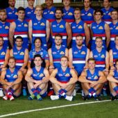 AFL 2018 Media - Western Bulldogs Team Photo Day