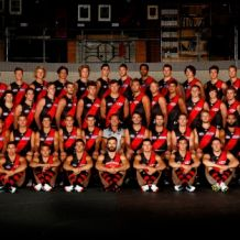 AFL 2012 Media -  Essendon Team Photo