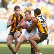 AFL 2012 Rd 15 - Hawthorn v GWS Giants