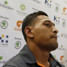 AFL 2012 Media - Israel Folau Press Conference