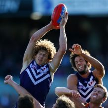 AFL 2013 Rd 20 - Fremantle v GWS Giants