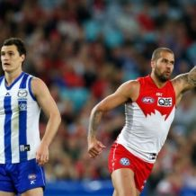 AFL 2014 First Preliminary Final - Sydney v North Melbourne