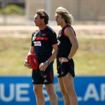 AFL 2014 Training - Essendon 071114