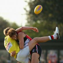 AFL 2016 Training - St Kilda Intra-Club Match