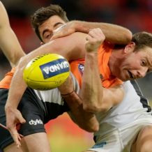 AFL 2016 Rd 14 - GWS Giants v Carlton