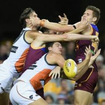 AFL 2016 Rd 17 - Brisbane v GWS Giants