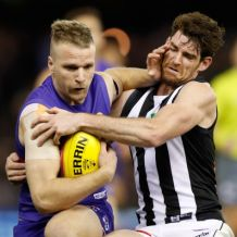 AFL 2016 Rd 21 - Western Bulldogs v Collingwood
