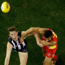 AFL 2016 Rd 22 - Collingwood v Gold Coast