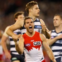 AFL 2016 Second Preliminary Final - Geelong v Sydney