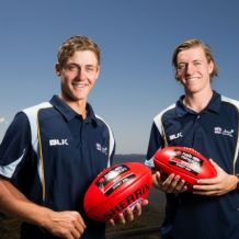 AFL 2016 Media - Will Setterfield and Harry Perryman