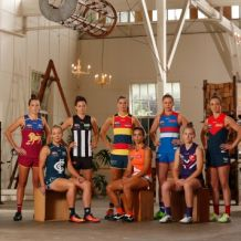 AFL 2017 Portraits - AFLW Captains