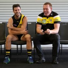 AFL 2017 Media - Richmond Team Photo Day