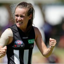 AFLW 2017 Rd 05 - Fremantle v Collingwood