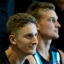 AFL 2017 Media - Port Adelaide Team Photo Day