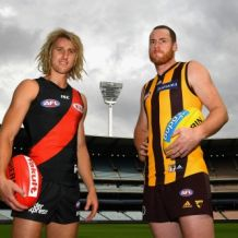 AFL 2017 Media - Essendon v Hawthorn Media Call