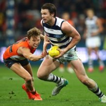 AFL 2017 Round 15 - GWS Giants v Geelong