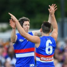 AFL 2017 Round 18 - Western Bulldogs v Gold Coast