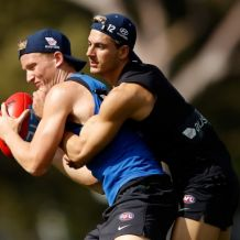 AFL 2017 Training - Carlton 151117