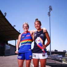 AFL 2018 Media - AFLW Pride Game Media Opportunity