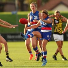 VFLW 2018 Round 01 - Western Bulldogs v Richmond