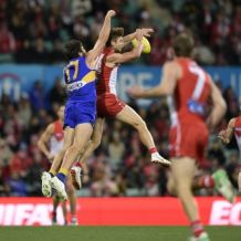 AFL 2018 Round 13 - Sydney v West Coast
