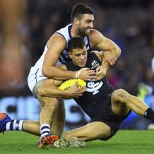 AFL 2018 Round 13 - Carlton v Fremantle