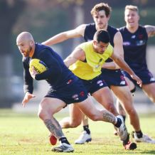 AFL 2018 Training - Melbourne 190618