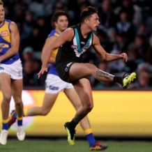 AFL 2018 Round 21 - Port Adelaide v West Coast