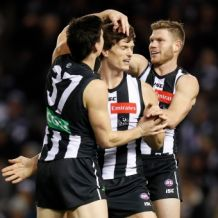 AFL 2018 Round 21 - Collingwood v Brisbane