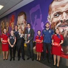 AFL 2018 Media - Virgin Australia Finals Mural