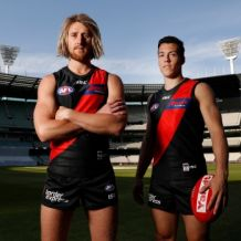AFL 2018 Media - Essendon FC Amart Sponsorship Launch