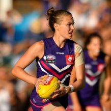 AFLW 2019 Rd 03 - Fremantle v Collingwood