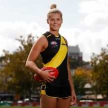 AFLW 2019 Media - Kaite Brennan Joins Richmond