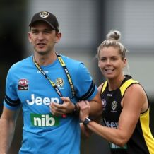 AFLW 2019 Training - Richmond 251119