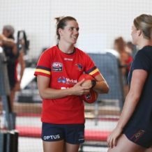 AFLW 2019 Training - Adelaide 121219