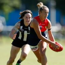 AFLW 2020 Training - Collingwood v Melbourne Practice Match