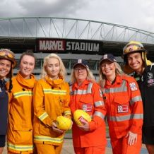 AFLW 2020 Media - Bushfire Relief Media Opportunity