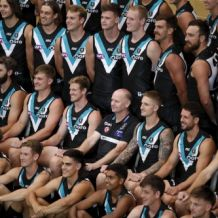 AFL 2020 Media - Port Adelaide Team Photo Day