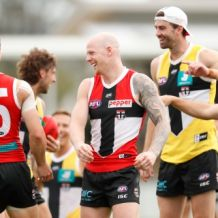 AFL 2020 Training - St Kilda 220920